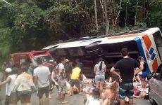 Πολύνεκρο δυστύχημα στην Βραζιλία