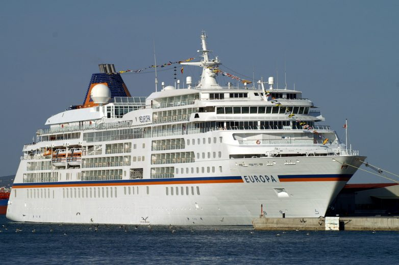 Στο λιμάνι του Βόλου το κρουαζιερόπλοιο «EUROPA 2»