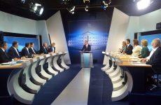Ανούσιο προεκλογικό  ντιμπέιτ πολιτικών αρχηγών