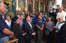 Τη μνήμη του Οσίου Ιωάννου του Κουκουζέλους εόρτασε ο Σύνδεσμος Ιεροψαλτών Βόλου