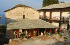 Νεές Μοναχές στην Ι. Μ. Παναγίας Λαμπηδόνoς