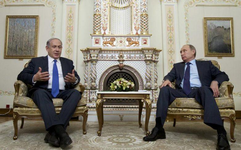 Συνάντηση Πούτιν-Νετανιάχου για την κατάσταση στη Συρία