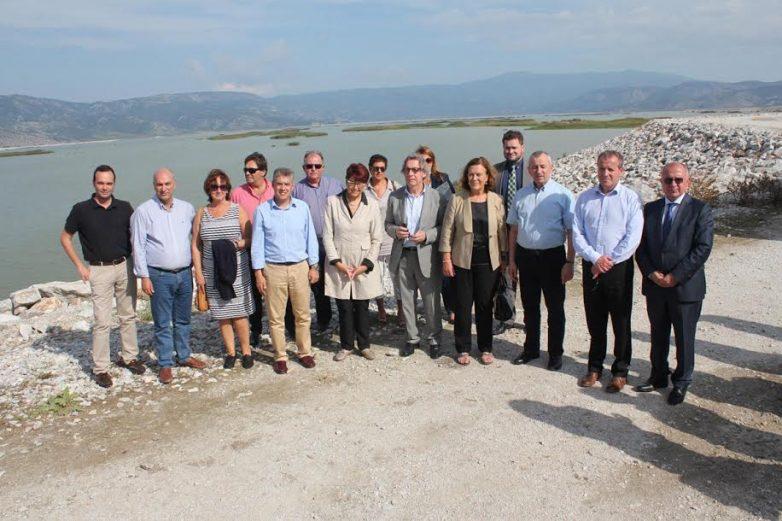 Στη Λάρισα αντιπροσωπεία Ευρωβουλευτών και της Ευρωπ. Επιτροπής για το έργο της Κάρλας