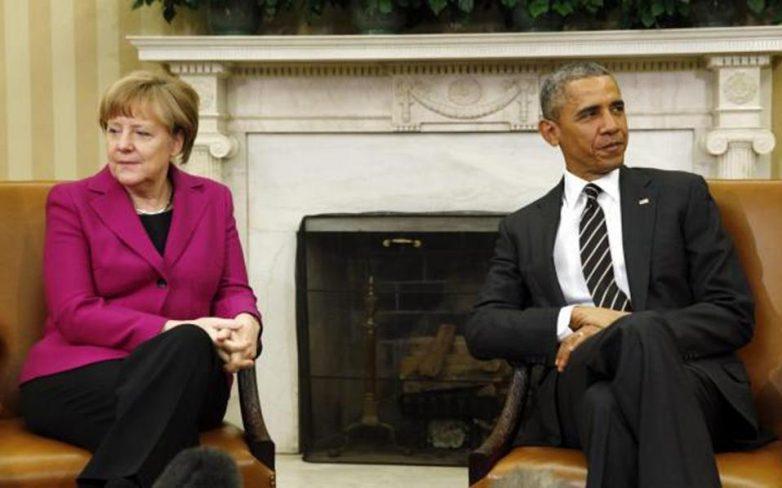 Δίκαιη κατανομή προσφύγων εντός Ε.Ε. ζητούν Ομπάμα – Μέρκελ