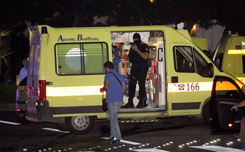 Σύγκρουση στρατιωτικού τζιπ με λεωφορείο των ΚΤΕΛ στα Τρίκαλα
