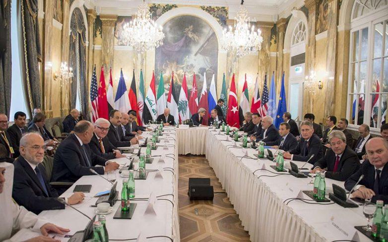 Σύνοδος για την επίλυση του Συριακού στη Βιέννη