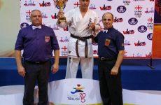 Βραβείο καλύτερου μαχητικού αθλητή στον Σείτη Μάνο στο Διεθνές Τουρνουά Caucasus Cup