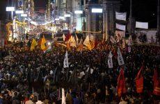 Τουρκία: Αντικυβερνητικές διαδηλώσεις μετά τις πολύνεκρες επιθέσεις