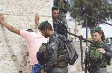 Μαζικές διαμαρτυρίες κατά του Ισραήλ από Παλαιστίνιους