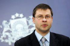 Στην Αθήνα ο αντιπροέδρος της Ευρωπαϊκής Επιτροπής Valdis Dombrovskis