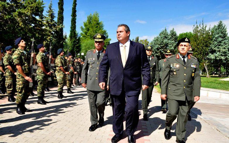 Π. Καμμένος: Kοινή η αμυντική πολιτική Ελλάδας – Κύπρου