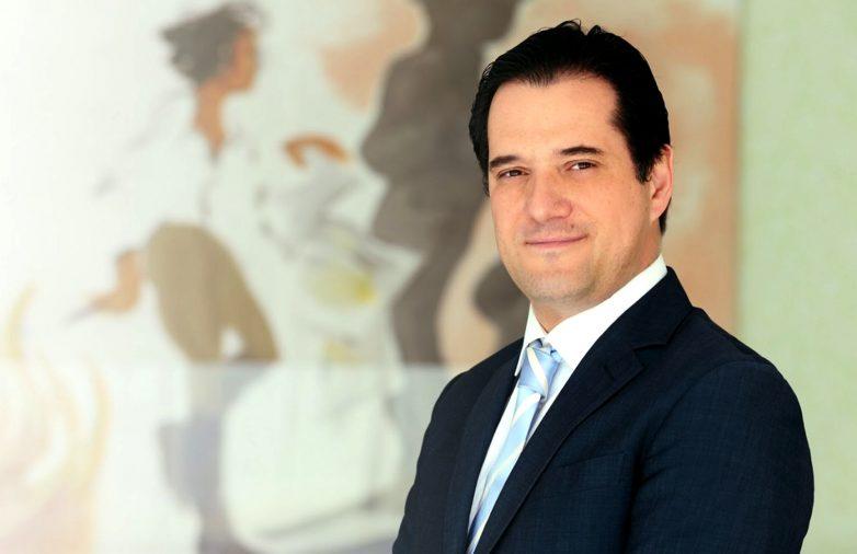 Στο Βόλο ο αντιπρόεδρος της Νέας Δημοκρατίας Άδωνις Γεωργιάδης