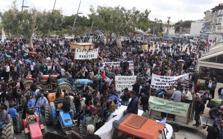 Πορεία αγροτών του Πηλίου αύριο στο Βόλο