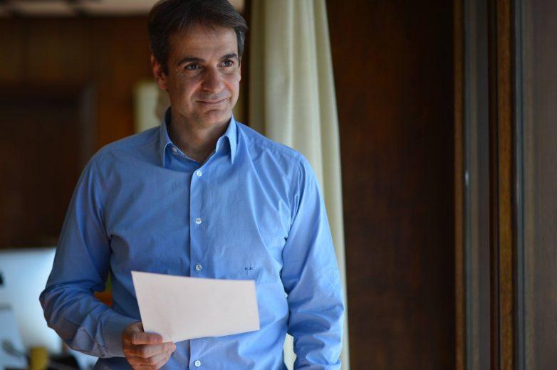 WSJ: Αχτίδα ελπίδας για το 2016 ο Κ. Μητσοτάκης
