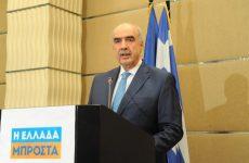 Την υποψηφιότητά του για την προεδρία της Ν.Δ. κατέθεσε ο Ευ. Μεϊμαράκης