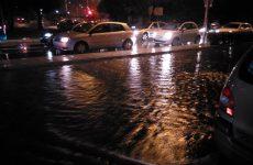 Έντονες βροχοπτώσεις αναμένονται  στον ήδη βροχερό  Βόλο