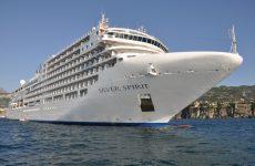 """Στο λιμάνι του Βόλου το «Silver Spirit"""""""