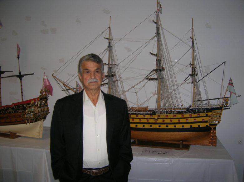 Ολοκληρώνεται η Έκθεση Μικροναυπηγικής ιστορικών πλοίων του Αντώνη Τζούμα