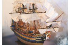 Έκθεση Μικροναυπηγικής ιστορικών πλοίων του Αντώνη Τζούμα