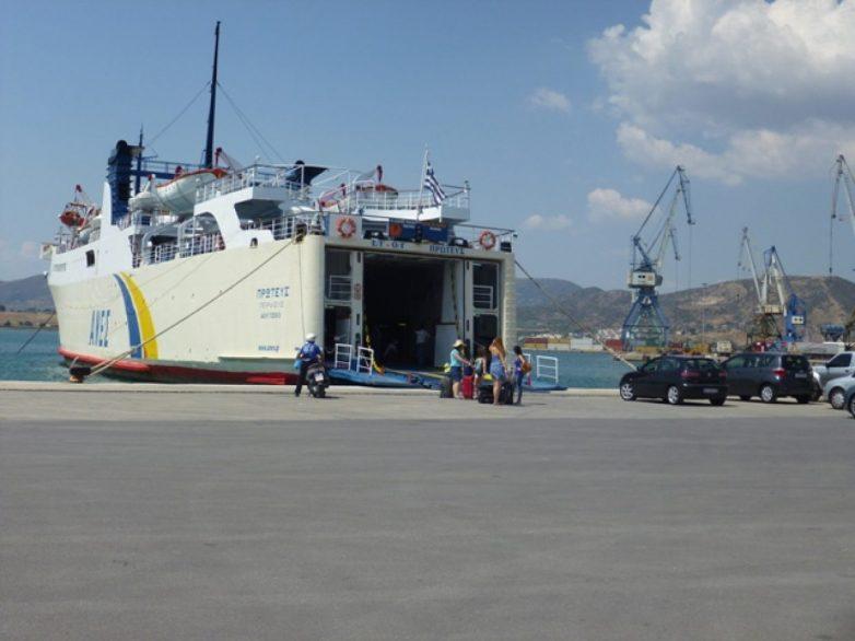Στο λιμάνι της Σκοπέλου το επιβατηγό – οχηματαγωγό πλοίο «Πρωτεύς»