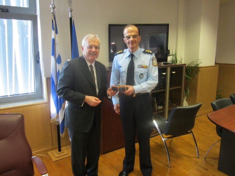 Συνάντηση του Γενικού Περιφερειακού Αστυνομικού Διευθυντή Θεσσαλίας με τον Γενικό Πρόξενο της Γερμανίας