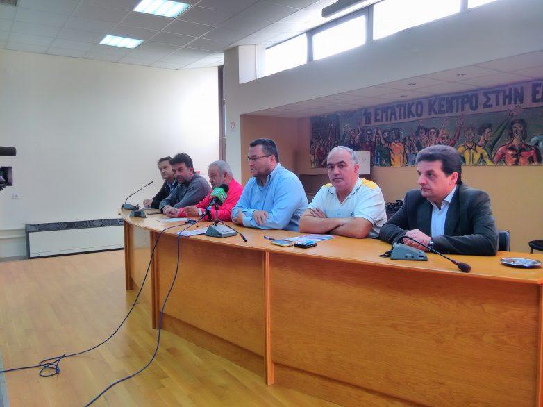 «Παραλύει»  η Μαγνησία  με την 24ωρη πανελλήνια απεργιακή κινητοποίηση