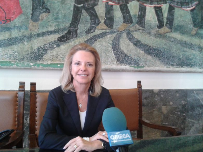 Αισιόδοξη η ευρωβουλευτής τη ΝΔ Ελίζα Βόζεμπεργκ για τις εκλογές της Κυριακής