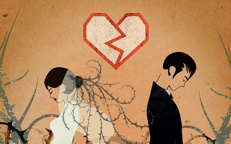 Στα ύψη τα ποσοστά των διαζυγίων