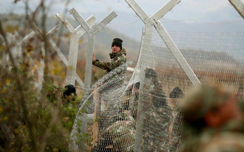 Φράχτη στα σύνορα με την Ελλάδα υψώνει η ΠΓΔΜ – σοβαρά επεισόδια στην Ειδομένη