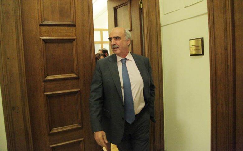 Παραίτηση Μεϊμαράκη, χρέη Προέδρου της ΝΔ ο Πλακιωτάκης