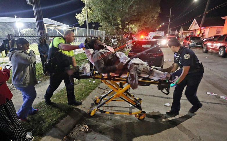 ΗΠΑ: 16 τραυματίες από πυροβολισμούς στη Ν. Ορλεάνη