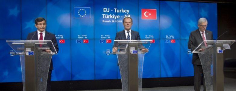 Δήλωση ΕΕ – Τουρκίας μετά τη Σύνοδο αρχηγών κρατών και κυβερνήσεων