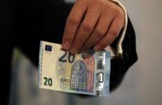 Το νέο χαρτονόμισμα των 20 ευρώ παρουσίασε ο Γ. Στουρνάρας