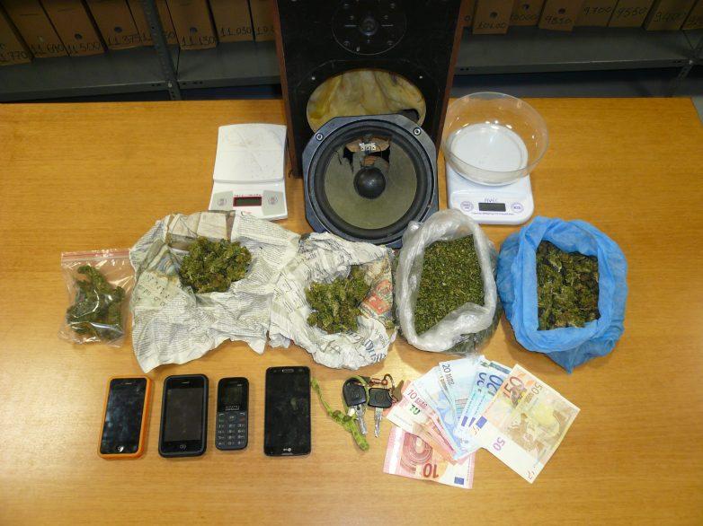 Tέσσερις συλλήψεις  για κατοχή και διακίνηση ναρκωτικών
