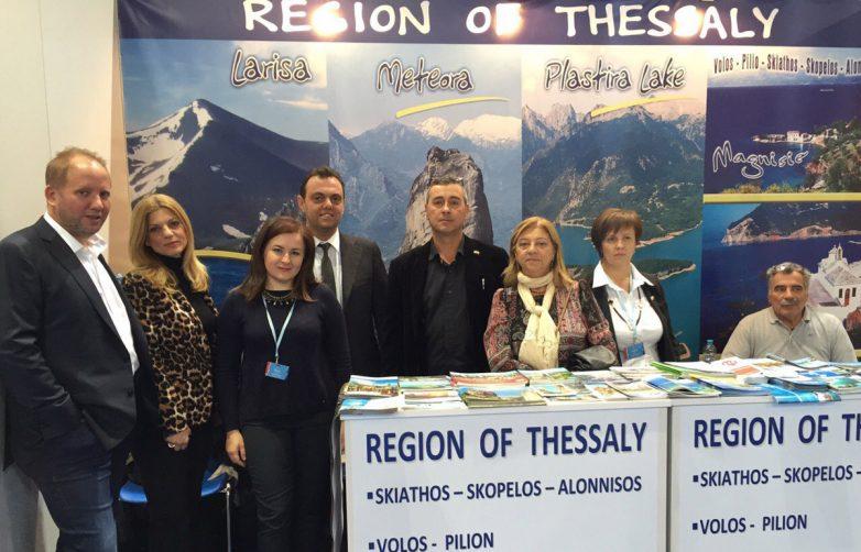 Στην 21η Διεθνή Έκθεση Τουρισμού  στο ΤΕΛ ΑΒΙΒ συμμετείχε ο δήμος Βόλου