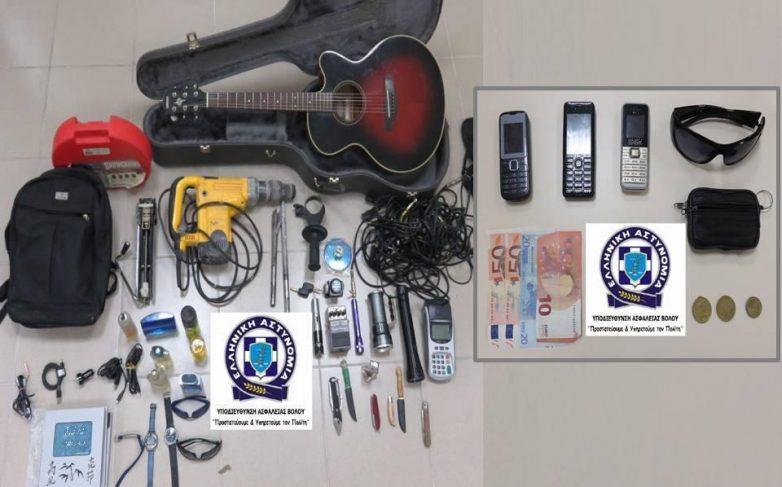 Είκοσι εννέα περιπτώσεις κλοπών εξιχνιάστηκαν στην πόλη του Βόλου