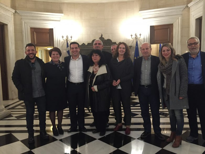 Συνάντηση βουλευτών Μαγνησίας του ΣΥΡΙΖΑ με τον Πρωθυπουργό