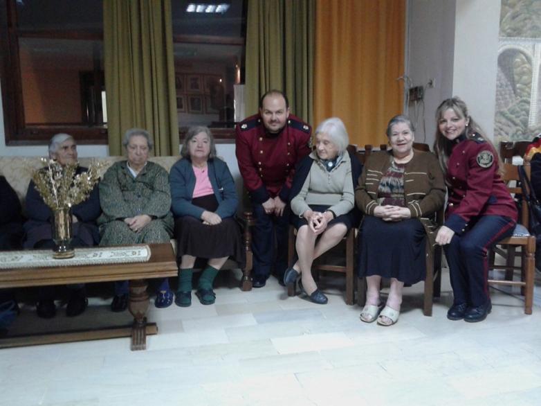Μουσική βραδιά από τη Φιλαρμονική του Δήμου Βόλου στους ηλικιωμένους του Γηροκομείου
