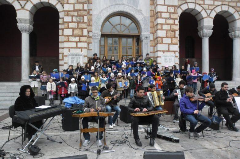 Εορταστικό μουσικό πρόγραμμα στη Μακρινίτσα