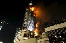Μεγάλη πυρκαγιά σε ξενοδοχείο στο Ντουμπάι