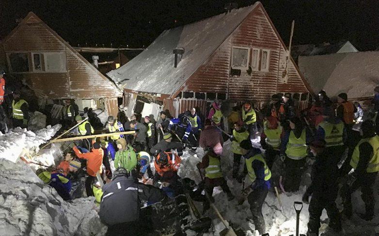Νορβηγία: Ενας νεκρός και 9 τραυματίες από χιονοστιβάδα