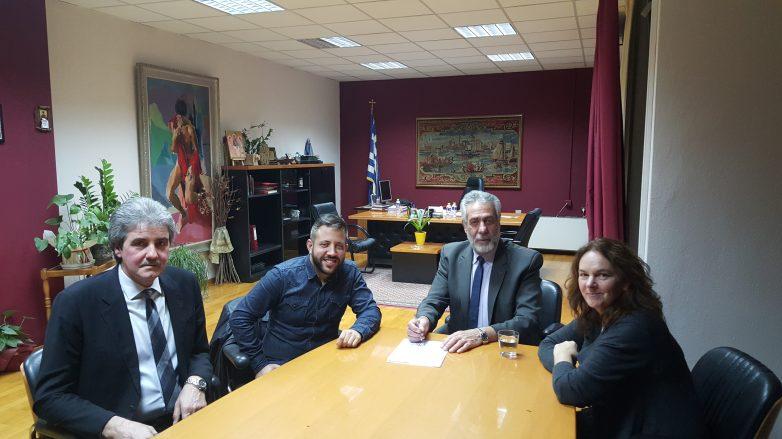 Συνάντηση δημάρχου Αλμυρού με βουλευτές του ΣΥΡΙΖΑ