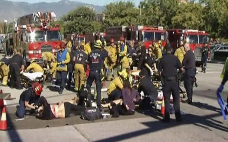 ΗΠΑ: Τουλάχιστον 14 νεκροί και 17 τραυματίες από ένοπλη επίθεση στην Καλιφόρνια