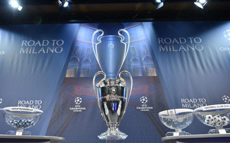 Τα ζευγάρια των «16» του Champions League