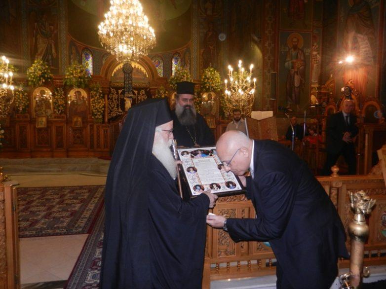 Ο Μητροπολιτικός  Ναός τίμησε τον αείμνηστο Κυριάκο Αργυρόπουλο
