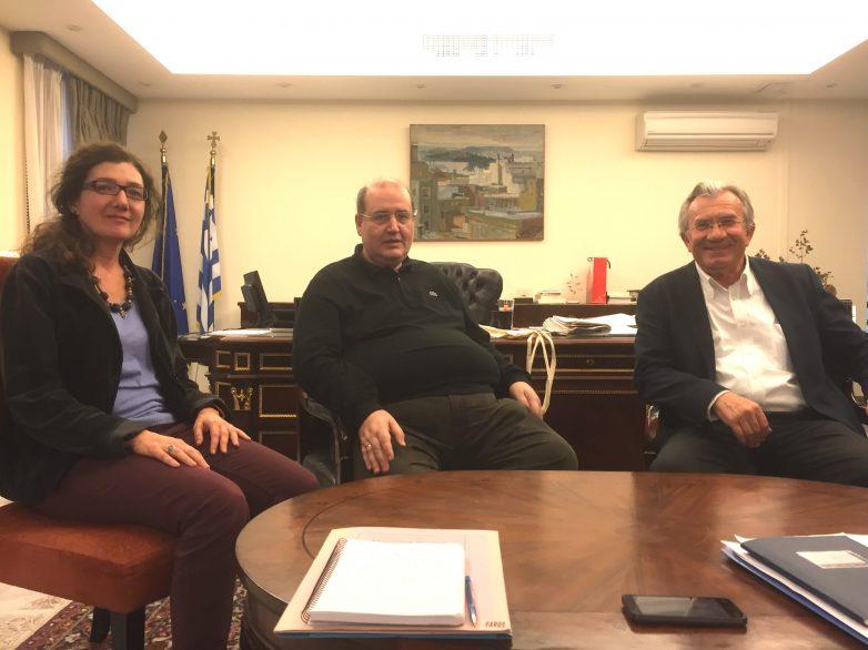 Θέματα περιβαλλοντικής εκπαίδευσης & πράσινου επαγγελματικού προσανατολισμού  στη συνάντηση του βουλευτή Γ. Δημαρά  με τον υπουργό Παιδείας Ν. Φίλη