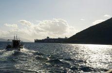 Προσάραξη φορτηγού πλοίου στην Αιδηψό
