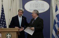 Κέρι: Οι ΗΠΑ στηρίζουν την Ελλάδα