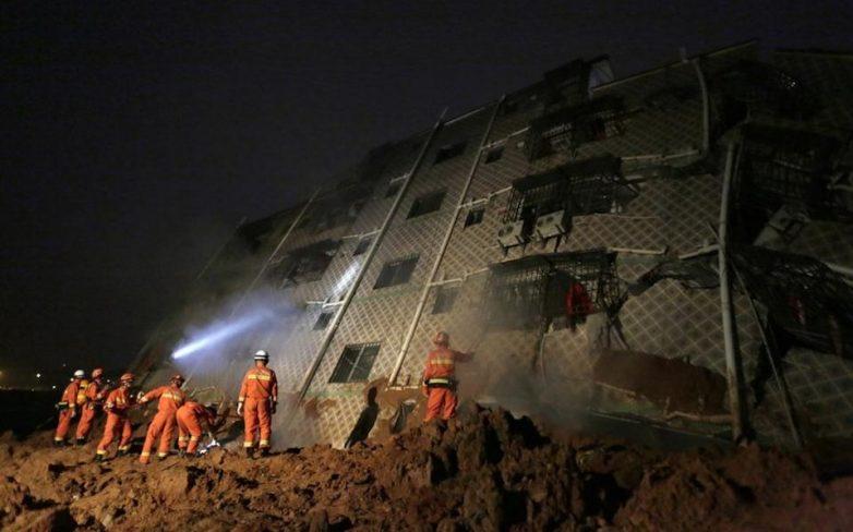 Κίνα: 91 αγνοούμενοι από κατολίσθηση βιομηχανικής λάσπης