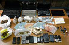 Θεσσαλονίκη: Εξάρθρωση κυκλώματος εισαγωγής και διακίνησης ναρκωτικών